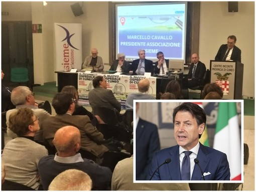 """Il premier Conte deposita """"Insieme"""", ma il copyright è a Cuneo"""