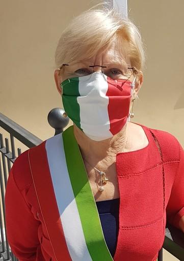 Il sindaco di Vezza d'Alba Carla Bonino