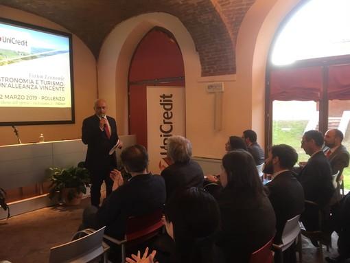 """UniCredit e l'Università di Scienze Gastronomiche di Pollenzo insieme per il Forum Economie su """"Enogastronomia e turismo: un'alleanza vincente"""""""
