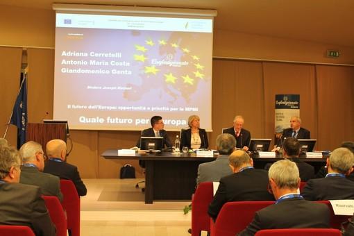 A Grinzane Cavour Antonio Tajani per la settimana europea delle PMI