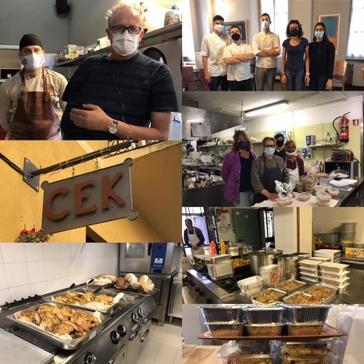 Pasqua solidale: nei ristoranti di Cuneo che preparano i pasti per 215 famiglie bisognose [VIDEO]