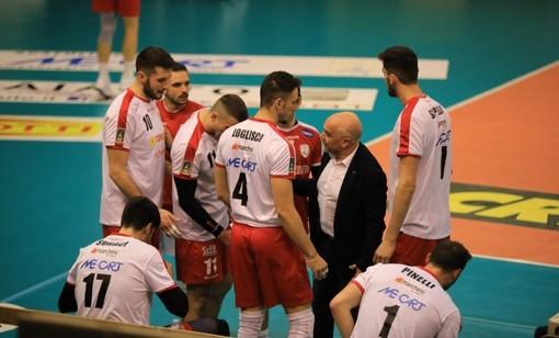 Volley maschile A2, playoff - Cuneo rimontata da Reggio Emilia, domenica sarà decisiva Gara 3