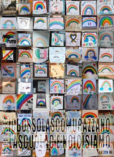 #andràtuttobene: il messaggio di speranza dell'Istituto comprensivo Bossolasco Murazzano