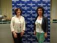Da destra: Mirella Marenco (delegata Movimento Donne Impresa) e Marinella Tomatis (vice)