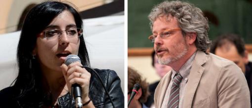 Fabiana Dadone e Mauro Campo