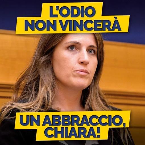 L'immagine condivisa sulla pagina Facebook del partito Democratico Piemonte