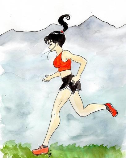 Disegno dell'illustratrice braidese Manuela Fissore