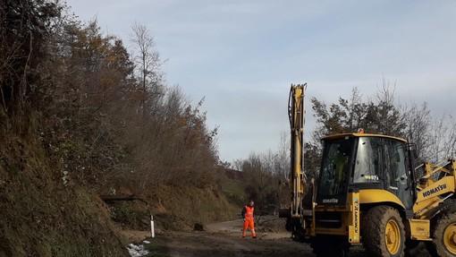 Frana rimossa: riaperta la strada provinciale 32 in località Mondoni