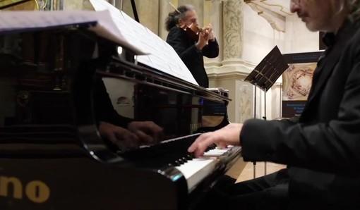 Ascolti record per l'Across Duo, protagonista al Concerto di Capodanno