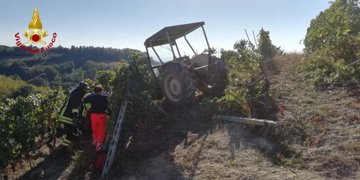 Clavesana, incidente sul lavoro in una vigna di borgata Possa: deceduto un 56enne