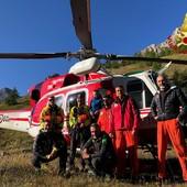 Due escursionisti recuperati nella notte al Brec de Chambeyron: zio e nipote di 9 anni stanno bene