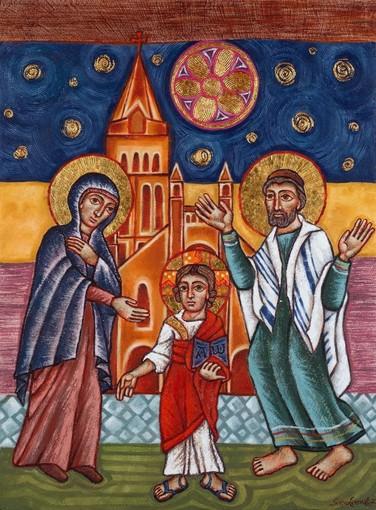 Alba, sabato 24 luglio la benedizione dell'icona della Famiglia di Nazareth alla chiesa di San Giuseppe