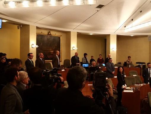 Palazzo Lascaris ha ricordato Giacomo Rossi, ex consigliere regionale e assessore provinciale