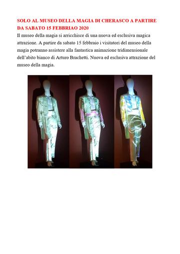 Cherasco: al Museo della Magia un carnevale speciale