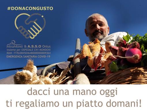 """""""Dacci una mano oggi, ti regaliamo un piatto domani"""": l'iniziativa del Miramonti di Frabosa Soprana per sostenre l'ospedale di Mondovì"""