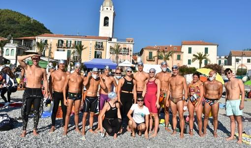 """Nuoto acque libere: Dominio del Csr Granda nella tappa del circuito """"Italian Open Water Tour 2020""""di Noli"""