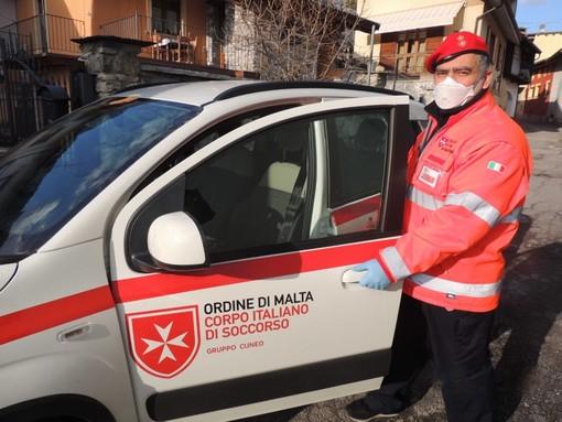 Volontari del Corpo Italiano di Soccorso Ordine di Malta attivi a Bra, Costigliole Saluzzo, Piasco e Valdieri