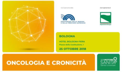 """Il gruppo editoriale Morenews partecipa al convegno """"Oncologia e cronicità"""" a Bologna"""