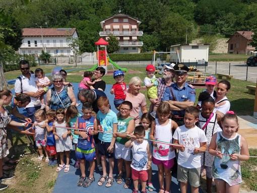 Un nuovo parco giochi per i bambini di Vezza d'Alba: il nome verrà scelto da loro a settembre