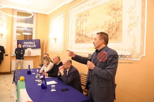 """Paolo Bongioanni ufficializza la sua discesa in campo con Fratelli D'Italia: """"Il mio impegno con Cuneo nel cuore"""" (FOTO E VIDEO)"""