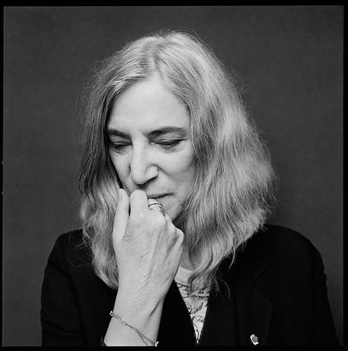 Patti Smith (dalla pagina Fb dell'artista)