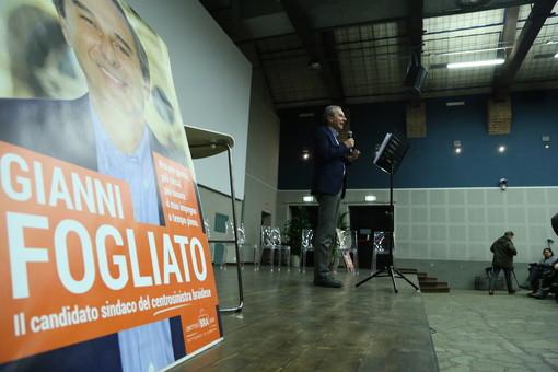 Obiettivo Bra 2024: il centrosinistra presenta il suo candidato sindaco, Gianni Fogliato (FOTO E VIDEO)