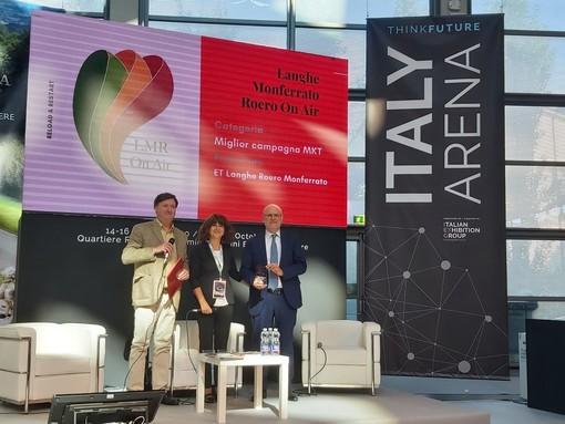 """""""Langhe Monferrato Roero on air"""" premiata al Ttg di Rimini come """"Miglior campagna di marketing"""""""