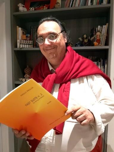 La musica del compositore albese Paolo Paglia non va in lockdown