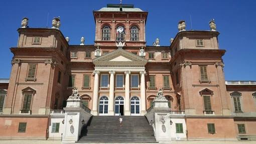 In foto il Castello di Racconigi, chiuso secondo le disposizioni del Dpcm del 3 dicembre 2020