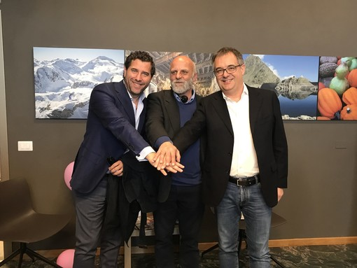 Da sinistra Davide Sordella, Fabrizio Gavosto e Marco Gallo