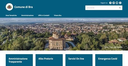 Accessibilità e nuove funzionalità: è online il nuovo sito del Comune di Bra
