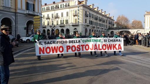 A distanza di 76 anni Cuneo ricorda il sacrificio di Nowo Postojalowka con la sfilata di Penne Nere (FOTO E VIDEO)