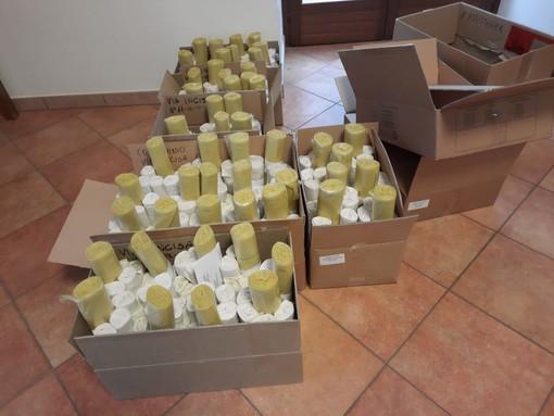 A Vezza sta per partire la distribuzione porta a porta dei sacchetti della differenziata