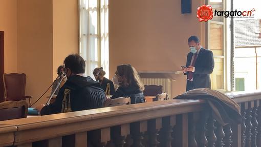 Presente in aula per deporre il senatore Matteo Salvini