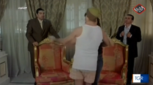 Salta il segnale Rai al concerto di Ferragosto da Limonetto e appare una soap di un canale arabo