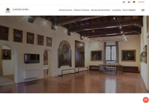 Il nuovo sito dei musei di Bra