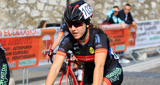 "Racconigi Cycling Team: Valentina Basilico in gara su pista alla ""International Piceno Sprint Cup"""